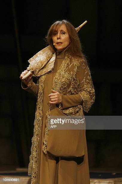 Lebanese diva Fairuz performs in Syria for the first time in two decades at the Damascus Opera House 28 January 2008 Fairuz took her Rahbani brothers...