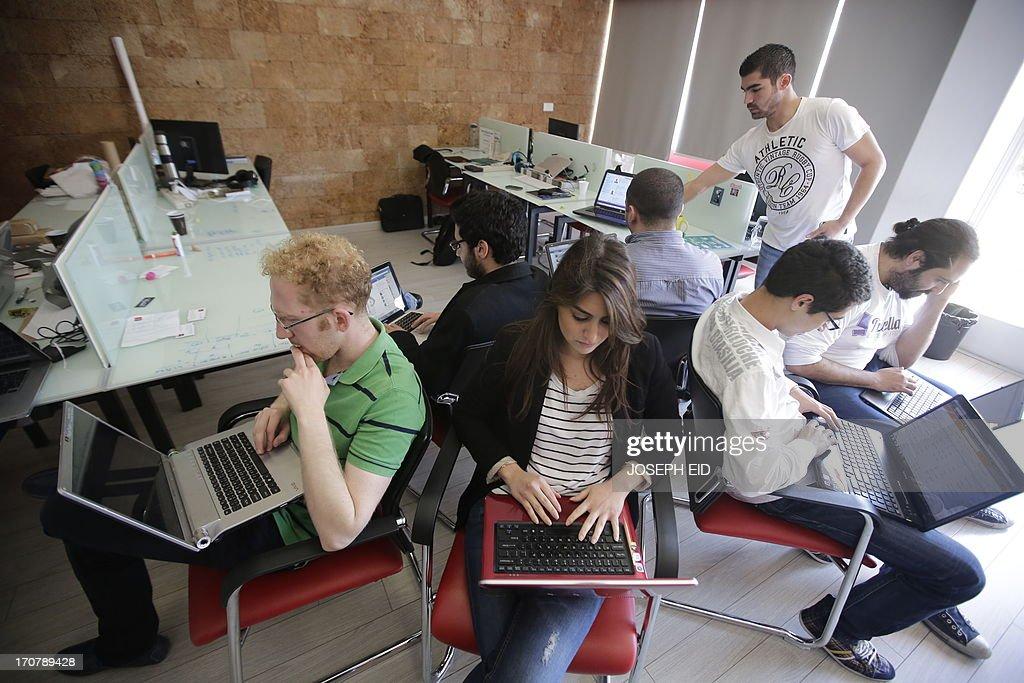 LEBANON-ECONOMY-IT-COMPUTERS-INVESTMENTS : News Photo