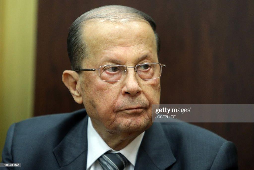 LEBANON-POLITICS-VOTE-PRESIDENT : News Photo