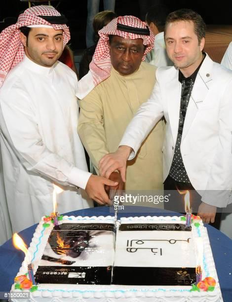 Lebanese Musician And Singer Marwan Khoury Emirati Saud Bin Sultan Join Saudi Abdel