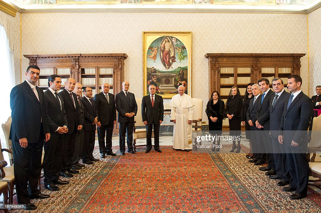 Pope Francis Meets President of the Republic of Lebanon