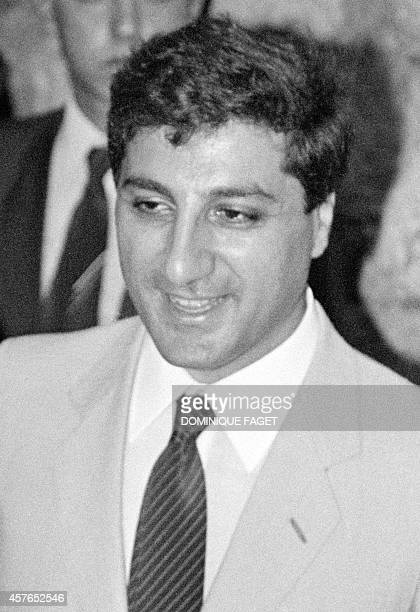 Lebanese presidentelect Bashir Gemayel pictured 26 August 1982 in Beirut AFP PHOTO DOMINIQUE FAGET