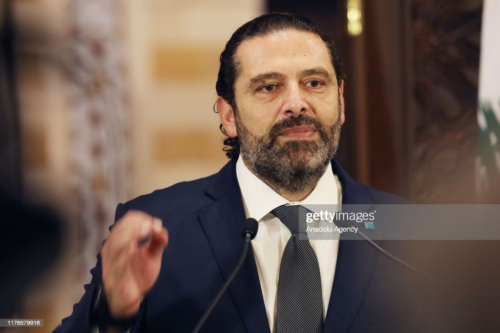 Lebanese Prime Minister Saad Hariri : News Photo