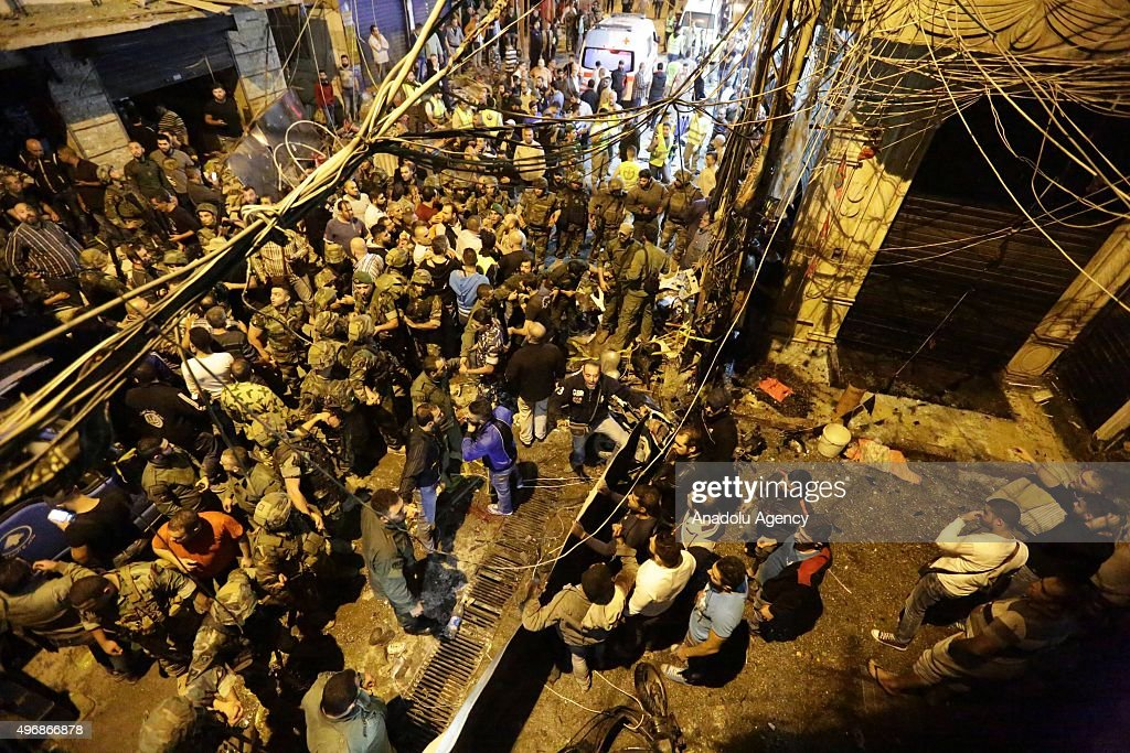 Explosions in Lebanon's capital Beirut : News Photo