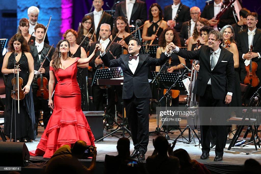 Lebanese soprano Joyce El-Khoury , Peruvian Tenor Juan Diego