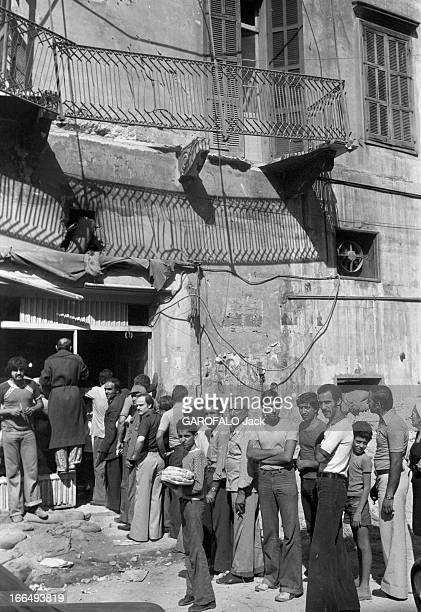 States Conflict With Syria Beyrouth 9 octobre 1978 Guerre du Liban conflit entre Israël la Palestine la Ligue des Etats arabes et la Syrie population...