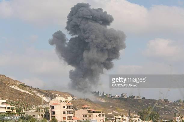 Lebanon The Bloody Road To Exodus C'est dans les villages du 'triangle de fer' d'où partent les roquettes Katioucha du Hezbollah que les frappes...