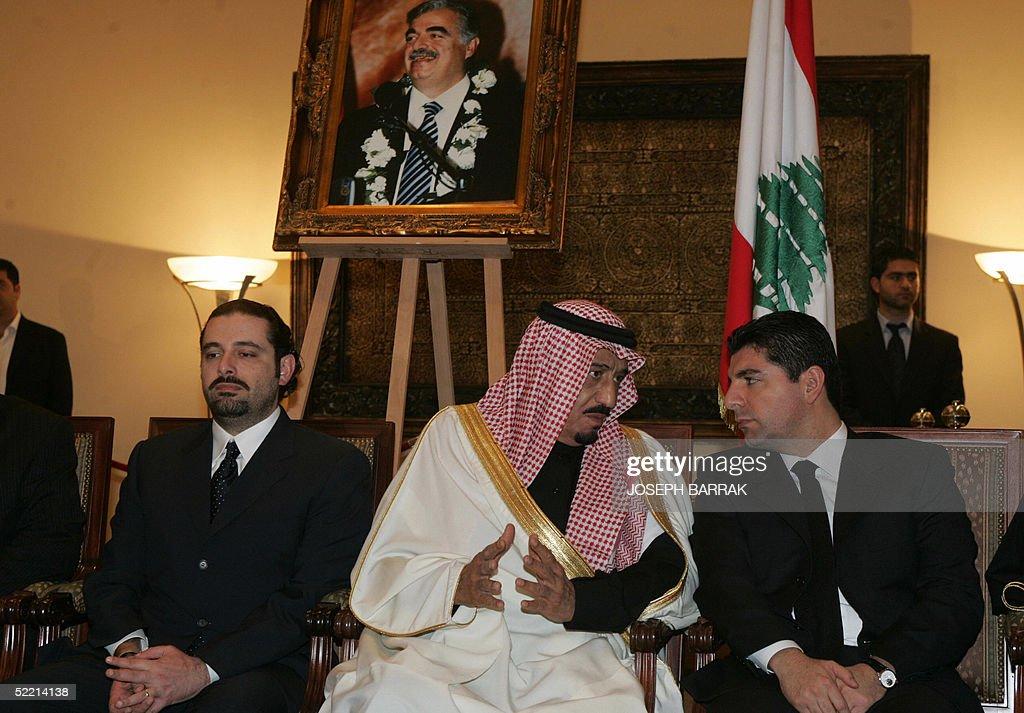 The sons of Lebanon's slain former prime : News Photo