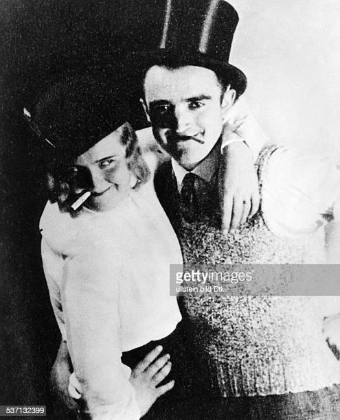 1912 1945 Lebensgefährtin Adolf Hitlers EB mit unbekanntem Partner beim Tanz oD