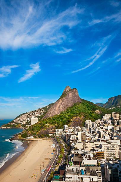 Leblon Beach in Rio de Janeiro.