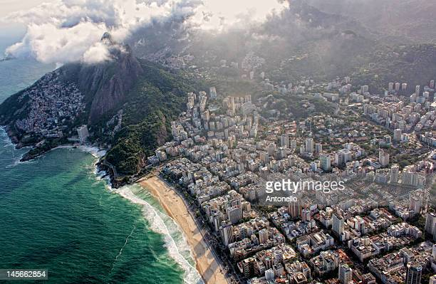 Leblon, vidigal and two brothers mountain