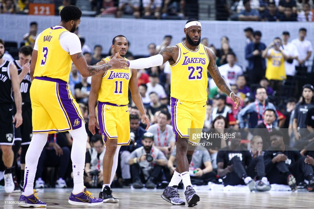 Los Angeles Lakers v Brooklyn Nets - NBA China Games 2019 : News Photo