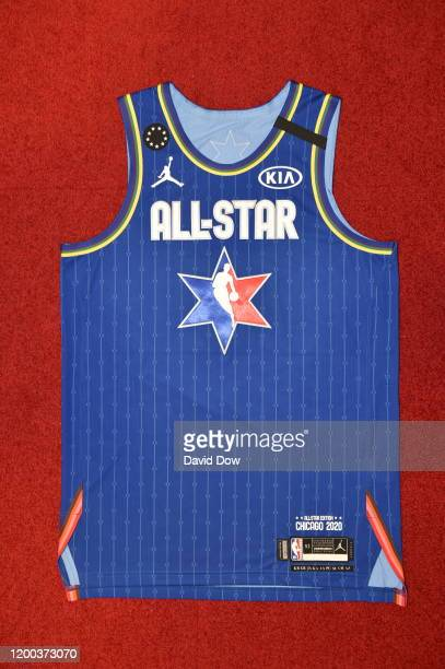 LeBron James All Star Uniform during the Uniform Shoot on Wednesday, February 12, 2020 at the United Center in Chicago, Illinois. NOTE TO USER: User...