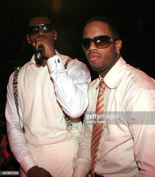 LeBron James and Damon Jones *Exclusive Coverage* during LeBron James 21st Birthday Party with Performance by Lil' Wayne at House of Blues in...