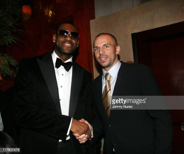 Lebron James and Jason Kidd during 2007 NBA AllStar in Las Vegas Jay Z and Lebron James' First Annual Two Kings Dinner and Party at TAO at TAO in The...