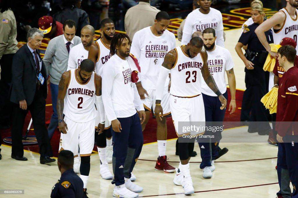 2017 NBA Finals - Game Three : News Photo