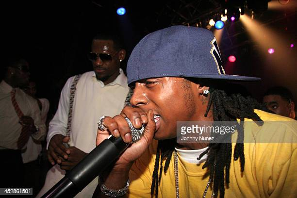 LeBron James and Lil Wayne *Exclusive Coverage* during LeBron James 21st Birthday Party with Performance by Lil' Wayne at House of Blues in Cleveland...