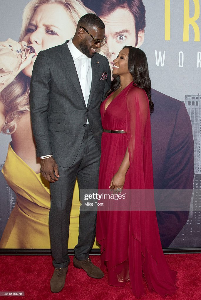 70ea17c96f91 LeBron James and wife Savannah Brinson attend the
