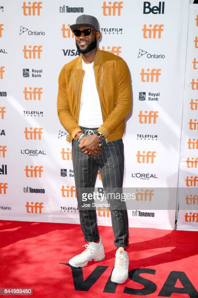 LeBron James attends The Carter Effect premiere during the 2017 Toronto International Film Festival at Princess of Wales Theatre on September 9 2017...