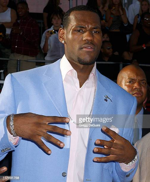 LeBron James during 2004 ESPY Awards Arrivals at Kodak Theatre in Hollywood California United States