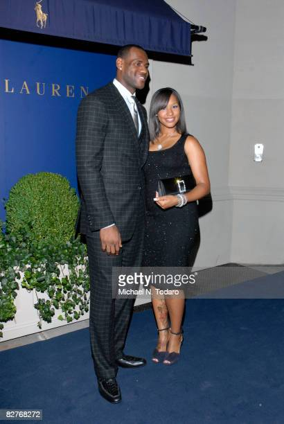 LeBron James Hosts a Benefit for the Lebron James Family Foundation with an evening of cocktails and private shopping at the Ralph Lauren Mansion on...