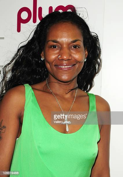 LeBron James mother Gloria James attends birthday party for Timbaland hosted by Plum TV Miami on March 9 2011 in Miami Florida