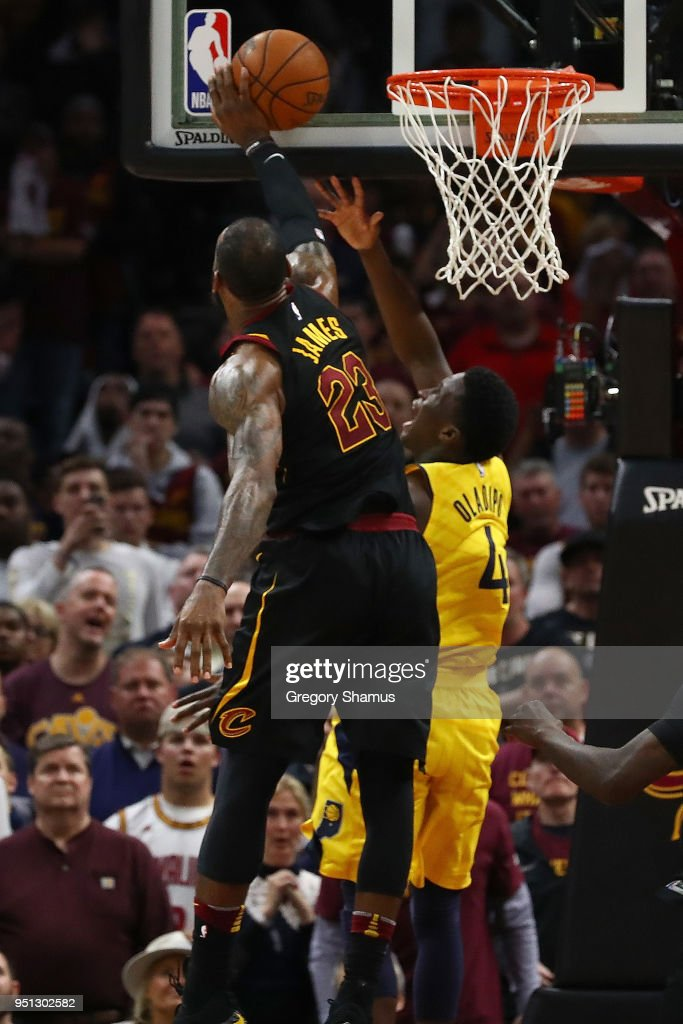 Indiana Pacers v Cleveland Cavaliers - Game Five