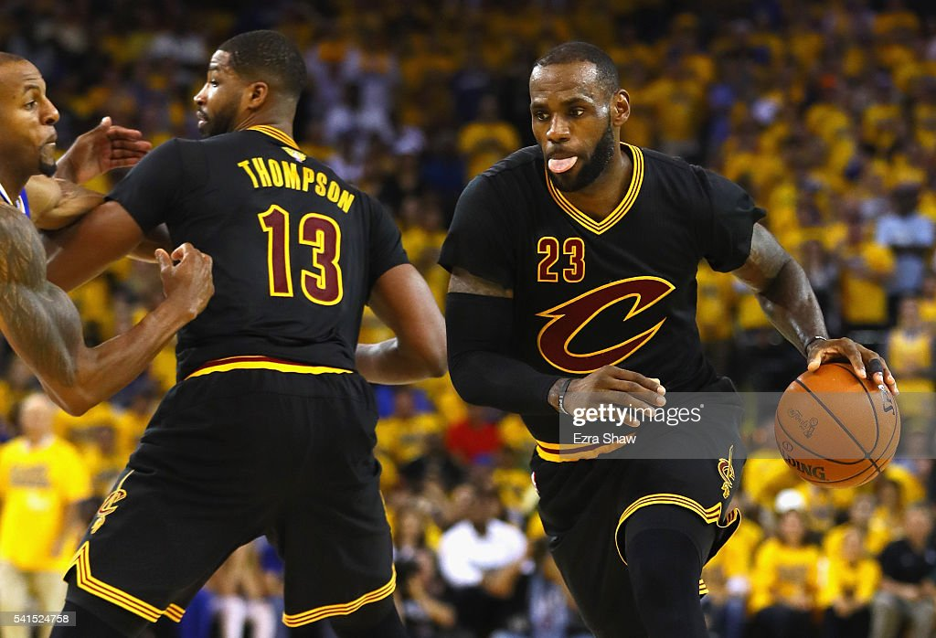 2016 NBA Finals - Game Seven : News Photo