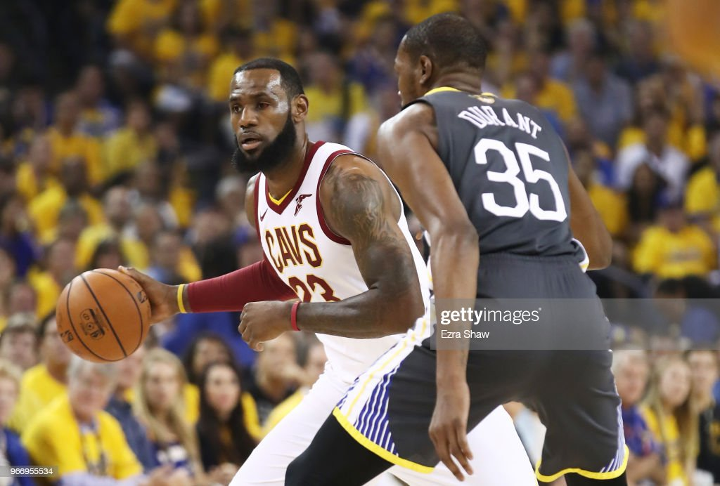 2018 NBA Finals - Game Two : News Photo
