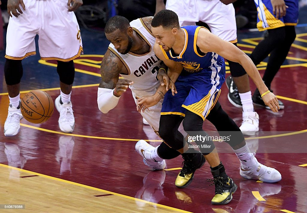 2016 NBA Finals - Game Six : News Photo