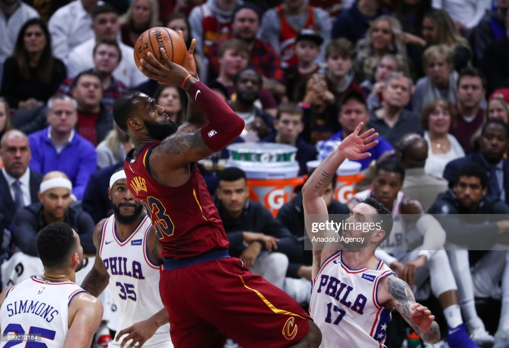 Cleveland Cavaliers vs Philadelphia 76ers: NBA : News Photo