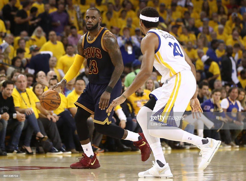 2017 NBA Finals - Game One : News Photo