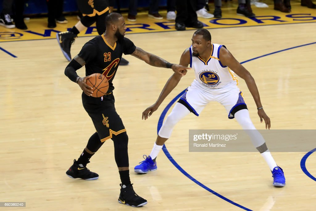 2017 NBA Finals - Game Two : News Photo