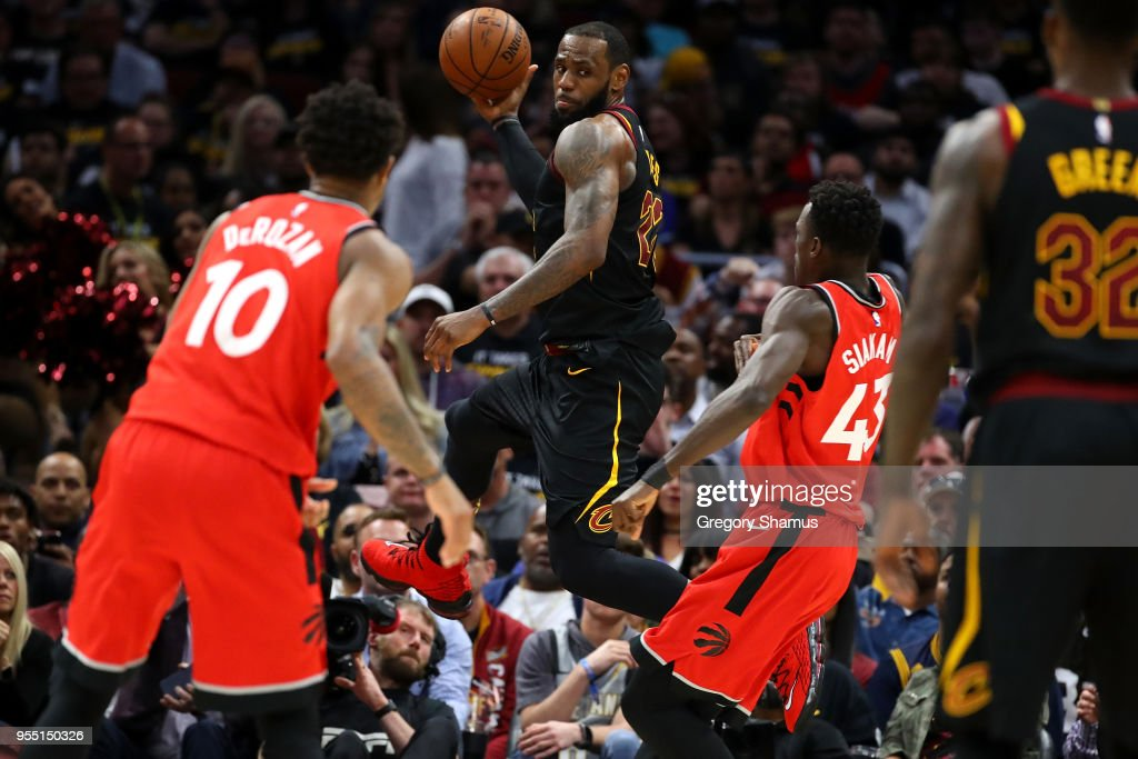Toronto Raptors v Cleveland Cavaliers - Game Three