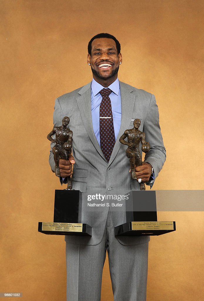 NBA MVP Award10 Pictures Embed EmbedLicense LeBron James Of The Cleveland Cavaliers Poses For A Portrait Prior To Winning His Second Maurice