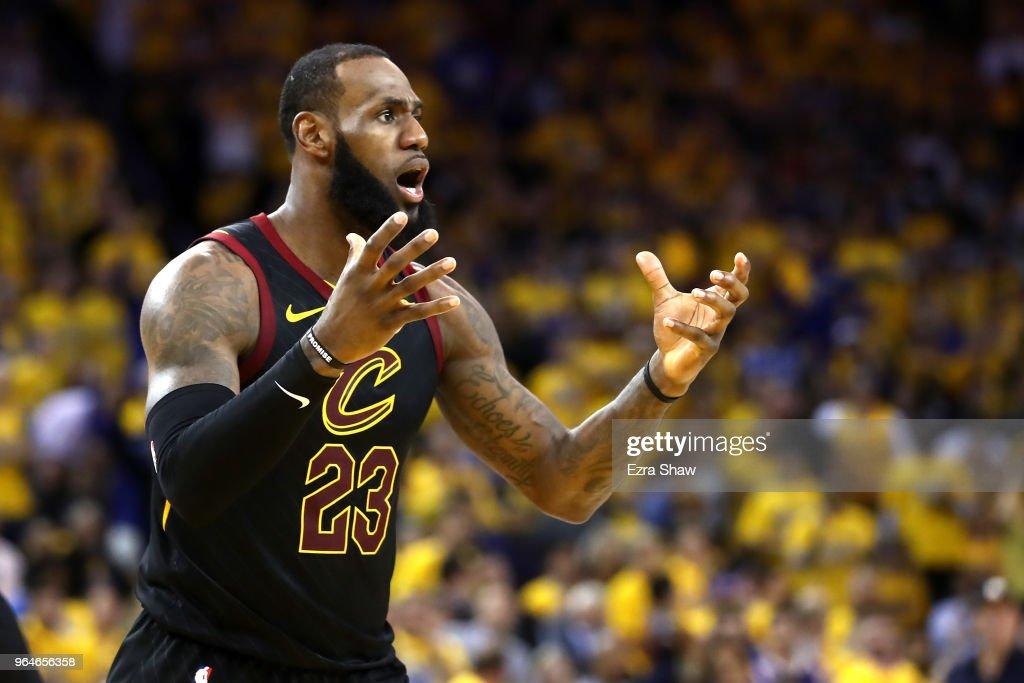2018 NBA Finals - Game One : Fotografía de noticias