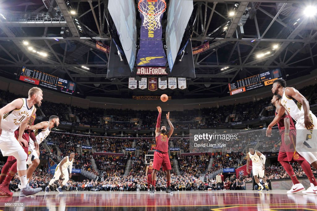 Indiana Pacers s v Cleveland Cavaliers : News Photo