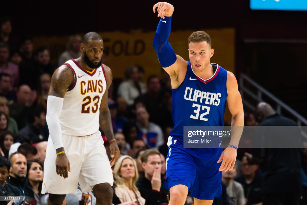 Los Angeles Clippers v Cleveland Cavaliers : News Photo