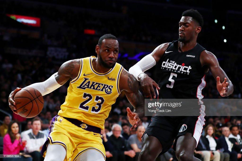 Washington Wizards v Los Angeles Lakers : News Photo