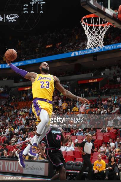 Worlds Best Lebron James Dunk Stock Pictures Photos And