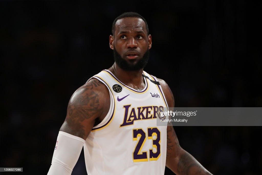 Boston Celtics v Los Angeles Lakers : News Photo