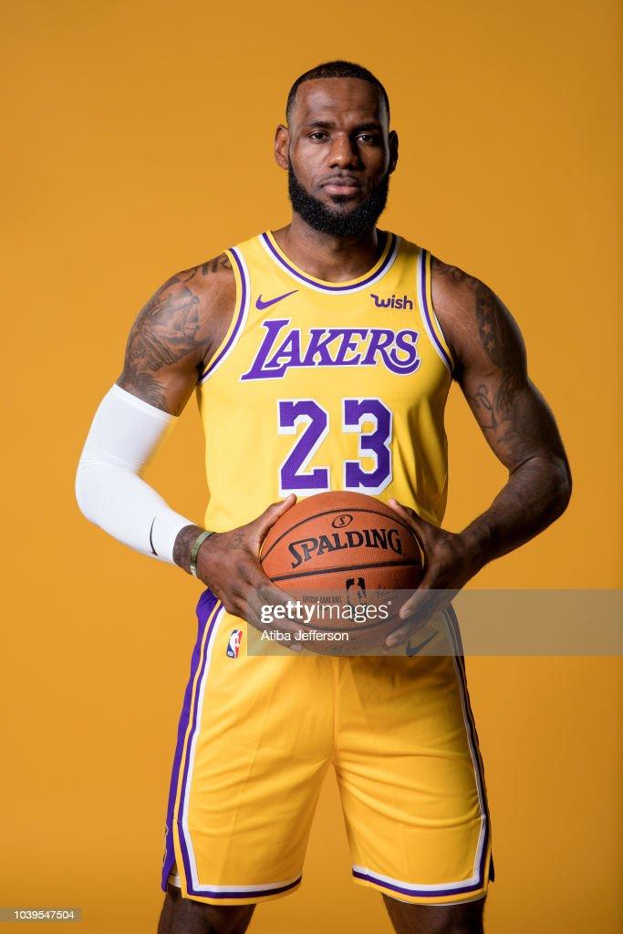 2018-19 Los Angeles Lakers Media Day : Nachrichtenfoto