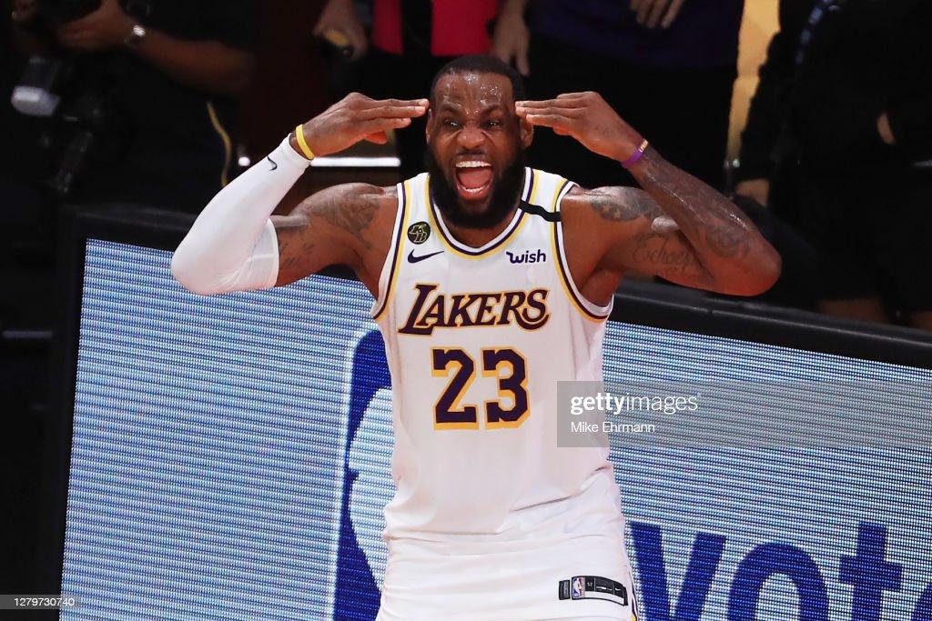2020 NBA Finals - Game Six : News Photo