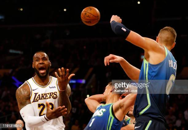World S Best Dallas Mavericks V Los Angeles Lakers Stock