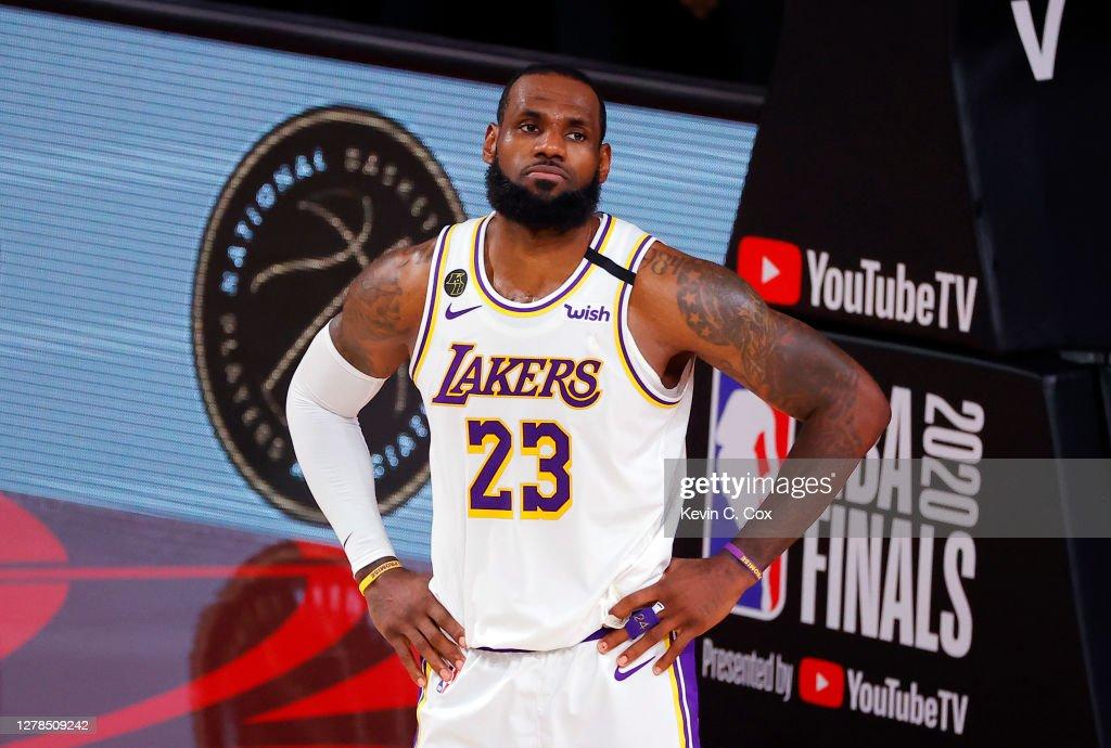 2020 NBA Finals - Game Three : News Photo