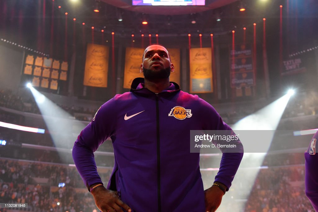Brooklyn Nets v Los Angeles Lakers : News Photo