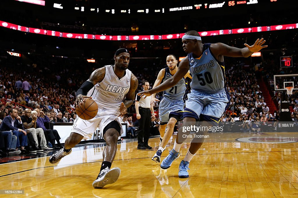 Memphis Grizzlies v Miami Heat
