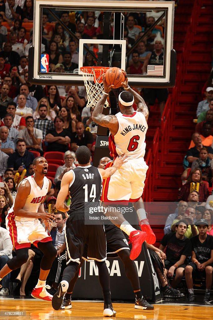 Brooklyn Nets vs Miami Heat : News Photo