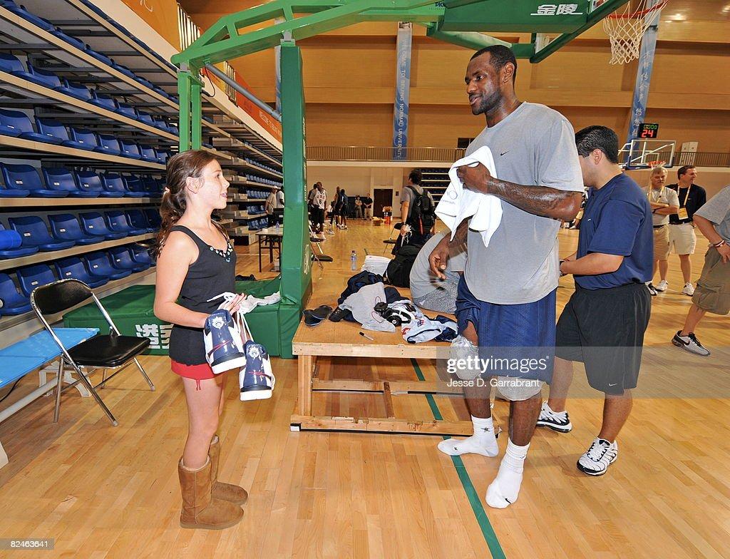 USA Basketball Travel and Activities : News Photo