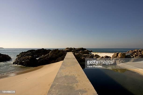 Leca Swimming Pool Matosinhos Porto Portugal Architect Alvaro Siza Leca Swimming Pool 1966 Piscina De Leca Da Palmeira 1966